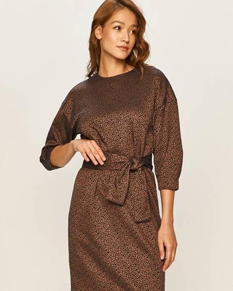 Béžové šaty Stefanel