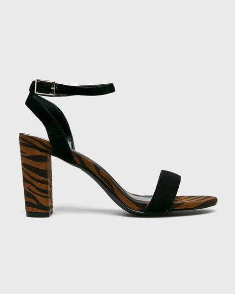 Hnědé boty ANSWEAR