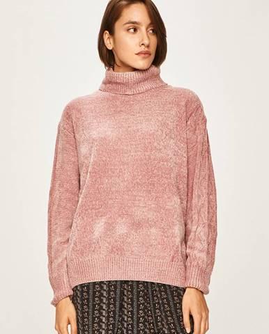 Růžový svetr ANSWEAR