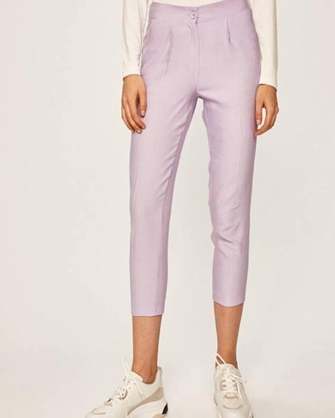 Fialové kalhoty ANSWEAR