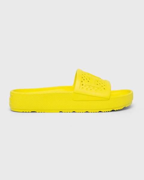 Žluté boty Hunter