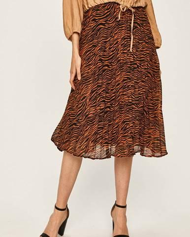 Vícebarevná sukně ANSWEAR