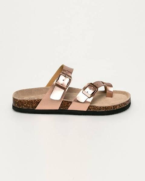 Růžové boty ANSWEAR