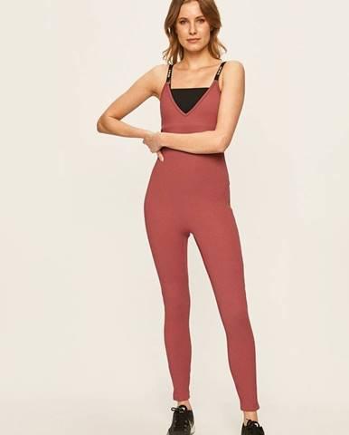 Růžový overal Nike Sportswear