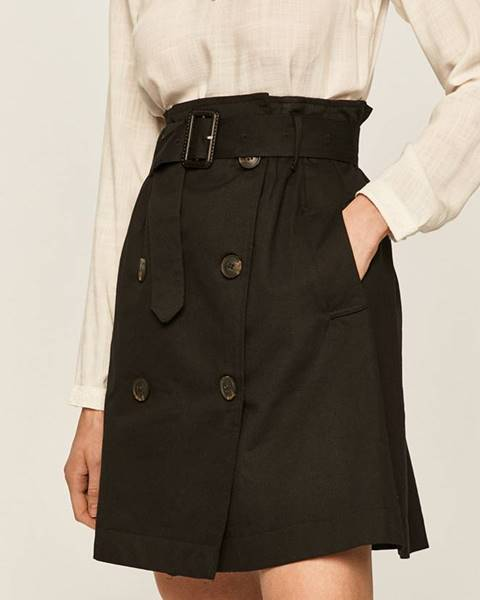 Černá sukně ANSWEAR