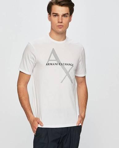 Trička, tílka Armani Exchange