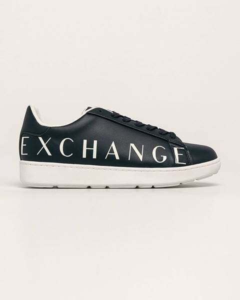 Modré boty Armani Exchange