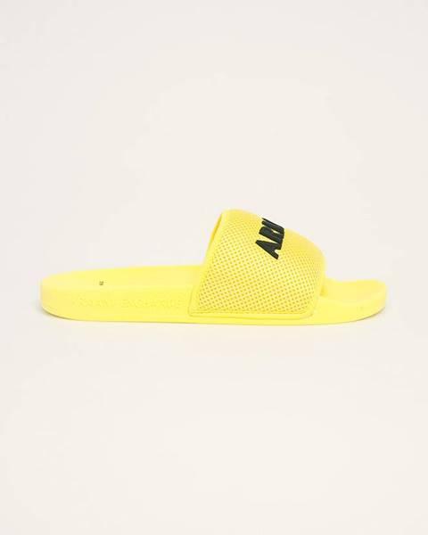 Žluté boty Armani Exchange