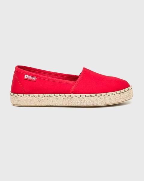 Červené boty Big Star