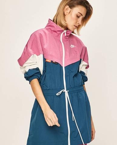 Růžová bunda Nike Sportswear