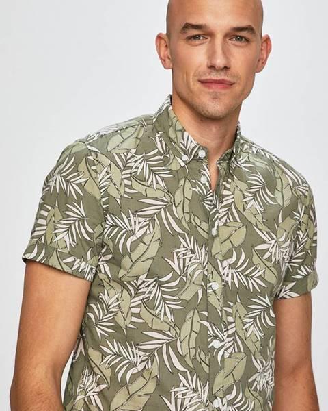 Zelená košile blend