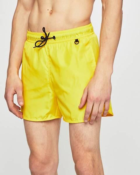 Žluté plavky blend