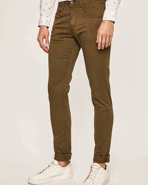 Zelené kalhoty blend