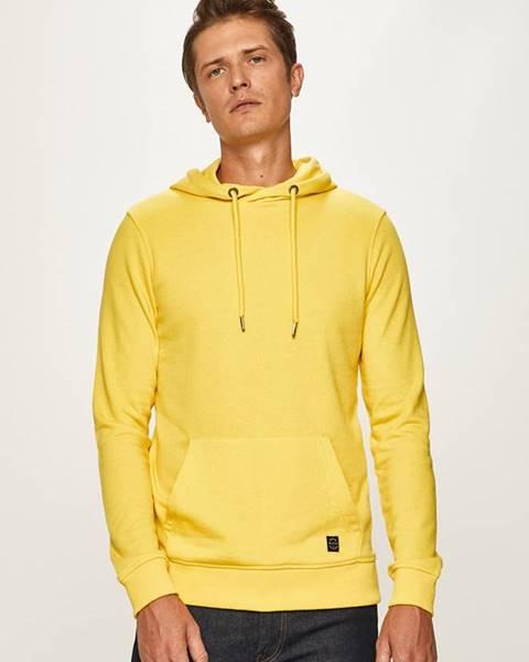 Žlutá mikina blend