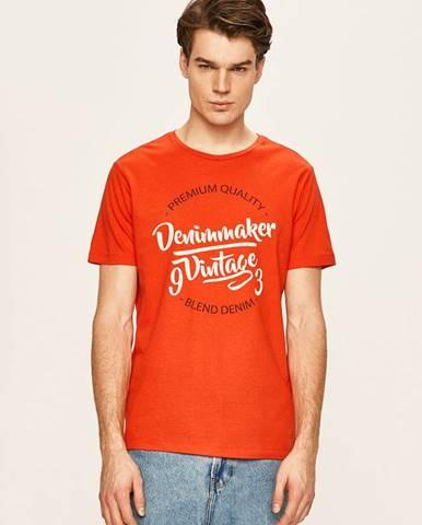 Červené tričko blend