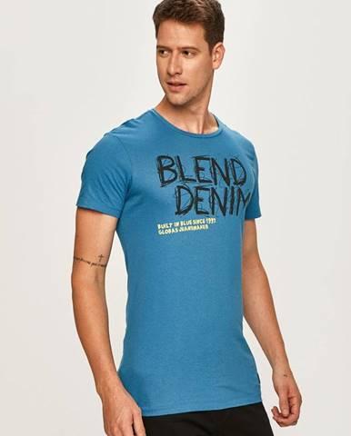 Tyrkysové tričko blend