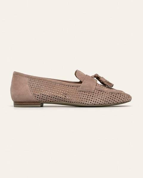 Šedé boty Caprice