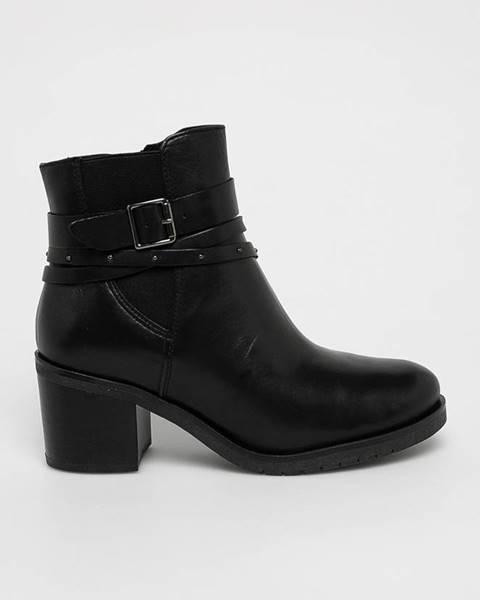 Černé boty Caprice