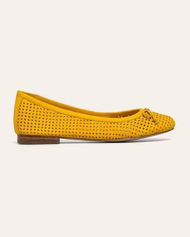 Žluté baleríny Caprice