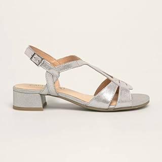 Caprice - Kožené sandály