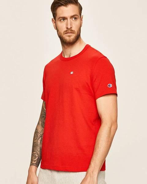 Červené tričko champion