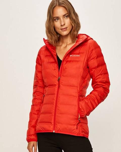 Červená bunda columbia