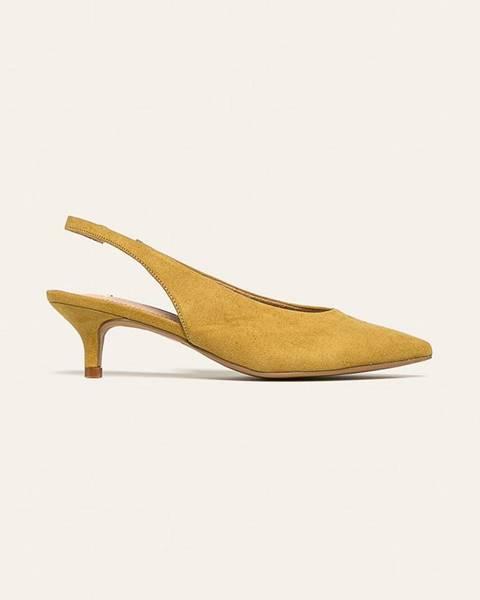 Žluté boty Corina