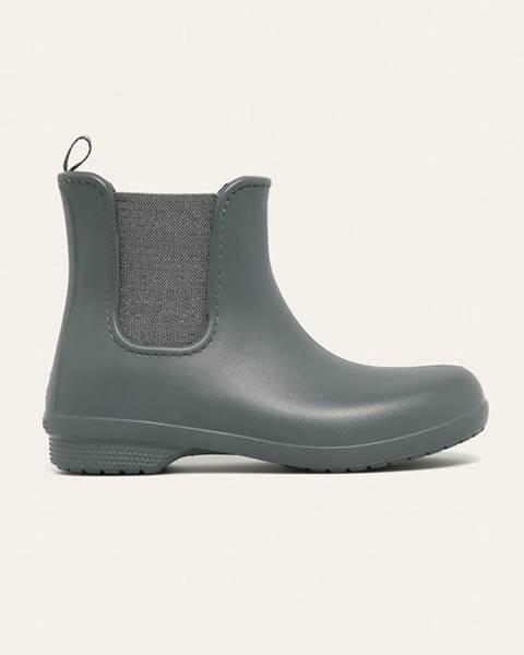 Šedé boty crocs