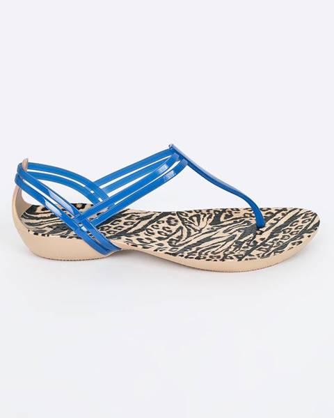 Modré boty crocs