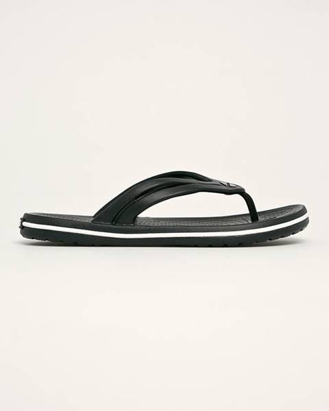 Černé boty crocs