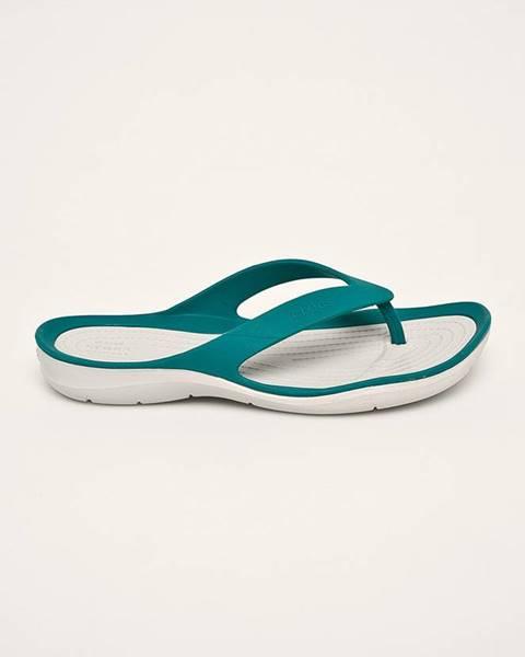 Tyrkysové boty crocs