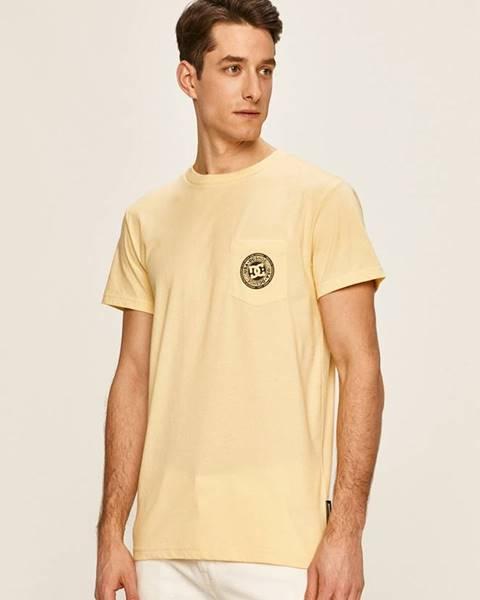 Žluté tričko DC
