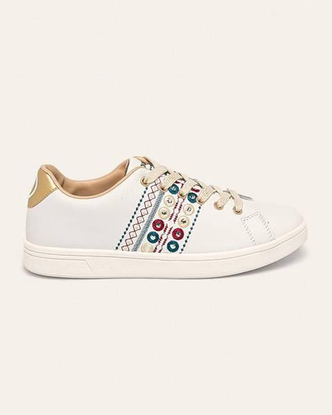 Bílé boty desigual