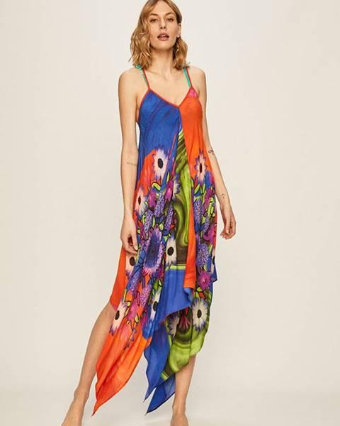 Vícebarevné šaty desigual