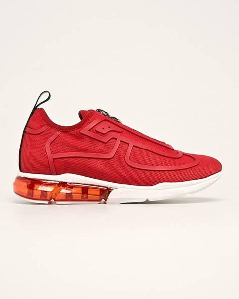Červené boty dkny