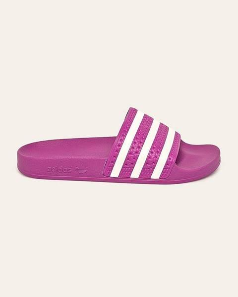 Růžové boty adidas originals