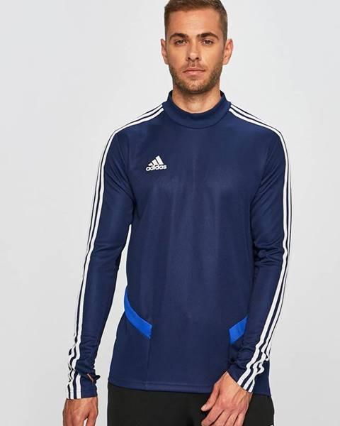Modrá mikina adidas performance