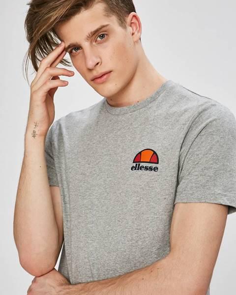 Šedé tričko Ellesse