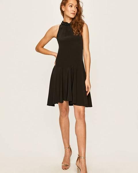 Černé šaty Emporio Armani