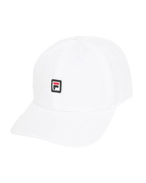 Bílá čepice fila