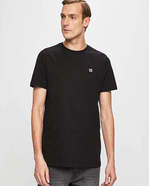 Černé tričko fila
