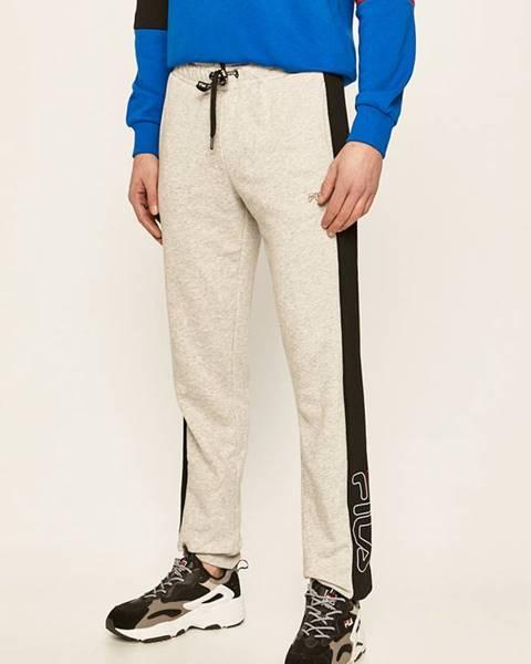 Šedé kalhoty fila