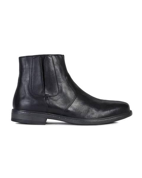 Černé boty geox