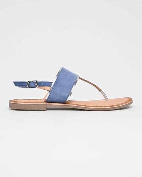Modré boty Gioseppo