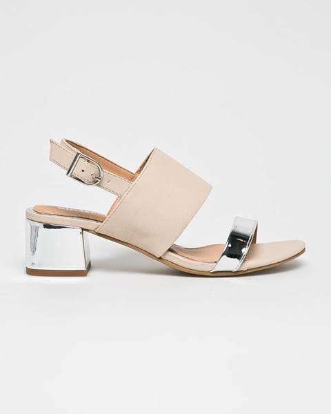 Béžové boty Gioseppo