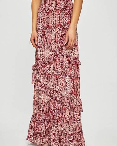 Burgundská sukně Glamorous