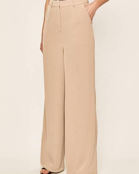 Béžové kalhoty Glamorous