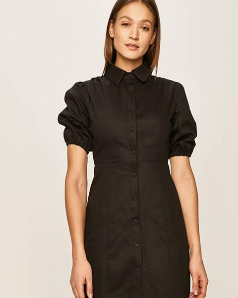 Černé šaty Glamorous