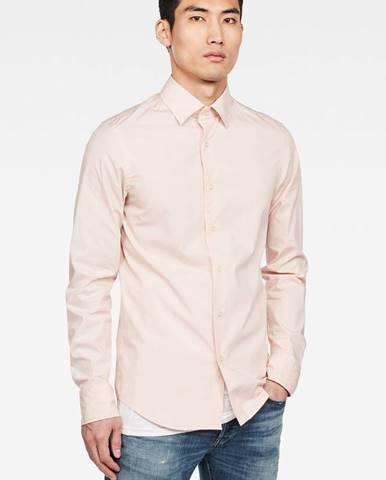 Růžová košile G-Star RAW