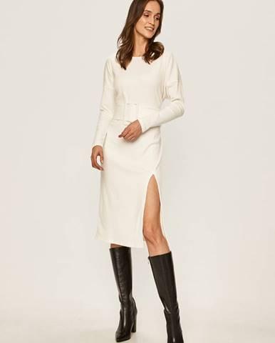 Bílé šaty Glamorous